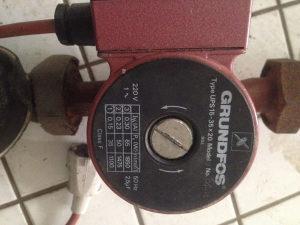 Pumpe za grijanje grundfos