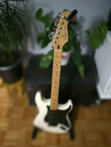 Fender stratocaster pedale