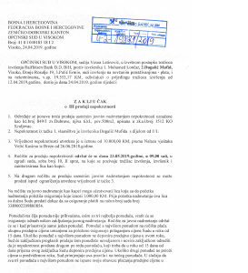 Prodaja zemljista u Opcini Visoko ; Dubrave