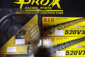 Lanac i Lancanici KTM EXC SX SXF Prox DID Japan