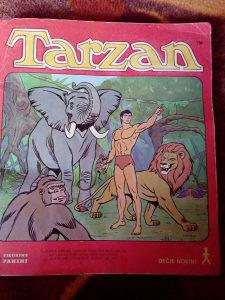 Tarzan album sa slicicama PANINI,popunjen