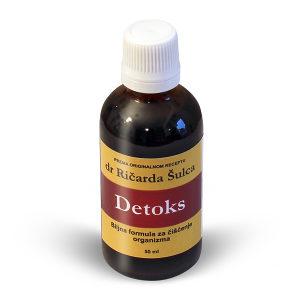 Tinktura Detoks za Ciscenje Organizma/Krvi/biljne kapi