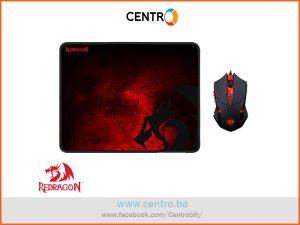 ReDragon - M601-BA 2u1 Gaming Mouse and Mouse Pad