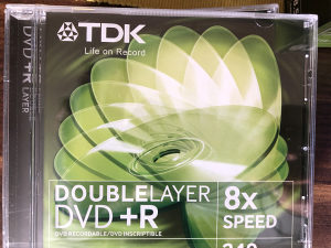 DVD+ R Doule layer 8,5 GB