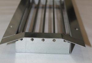 Rešetka za ventilaciju spirokanalna