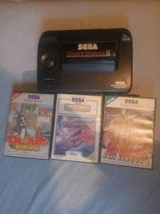 Sega Master system lot