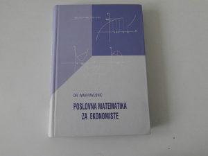 Poslovna matematika za ekonomiste
