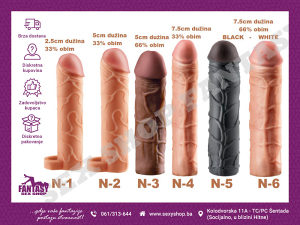Navlake za Penis Xtensions Navlaka | Sex Shop Fantasy