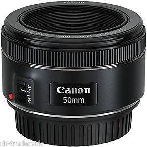 Objektiv CANON EF50mm 1.8 STM (0570C005AA)