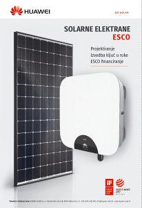 HUAWEI Jinko Solarne elektrane  solarni paneli