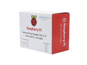 Power Adapter 5.1V 2.5A Raspberry Pi 3