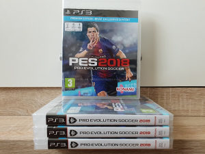 PES Pro Evolution Soccer 2018 PS3