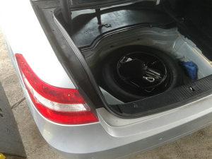 Mercedes E w212 5x112 rezervni tocak rezervna guma