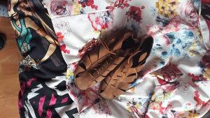 Patike i cipele. Koristeno.