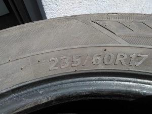 Hankook gume 4x 235/60/17