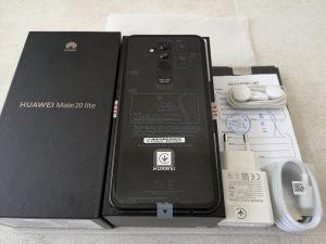 Huawei Mate 20 Lite Dual Sim- NOVO- 2GOD.GARANC. - 64Gb