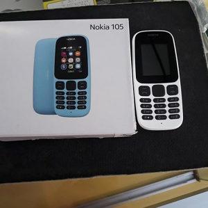 NOKIA 105 nas meni Dual (2 SIM) White Nov!