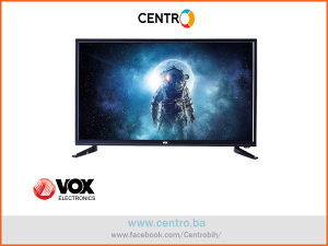 "VOX TV 32DSA662Y, 32"" (81 cm) HD, Bazni, Crni"