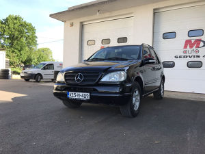 Mercedes-Benz ML 320b. 2002. Plin. reg 9/19