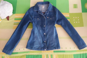 Miss Sixty teksas jakna strukiran model i ima elastina