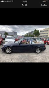 BMW 325 cabrio kabriolet