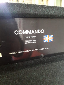 Trace Elliot Commando