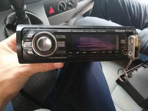 Auto Radio Sony cd Usb aux