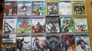 Original igre igrice za PlayStation 3 PS3