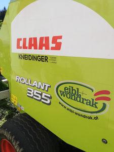 Rolo presa balirka CLAAS 355 RC