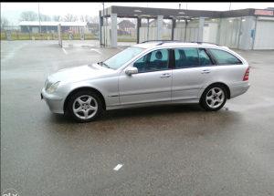Mercedes c 200cdi model 2004