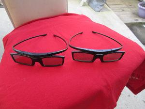 samsung 3d active glasses -ssg-5100gb novo!!!