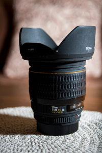 Sigma 20mm f1.8 EX za Nikon