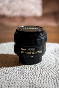 Nikon Nikkor 50mm 1.8G
