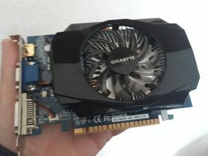Graficka Gigabyte NVIDIA GF GTX 630 GV-N630-2GI 2GB