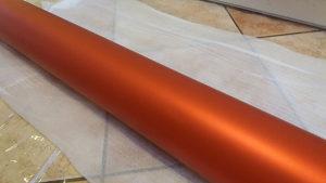 Folija narandzasta mat metalic