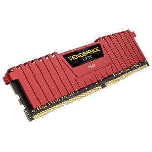 VENGEANCE LPX 8GB  DDR4  2666MHz C16 Memory Kit - RED