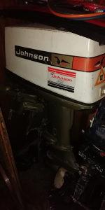 Johnson motor 40