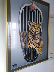 Slika Jaguar za salone auta. Limitirana