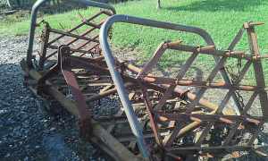 Traktorska drljaca zubaca 4krila