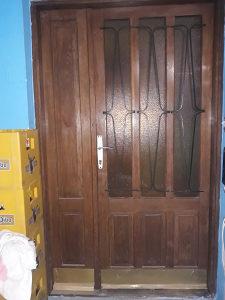 Vrata koristena, puno drvo, 120x210 cm