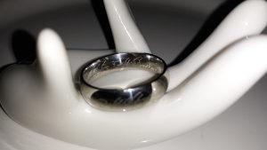 Prsten iz GOSPODARA PRSTENOVA nehrdjajuci celik