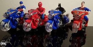 Supermen na motoru