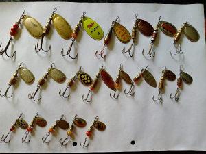 Leptiri / Spineri za ribolov