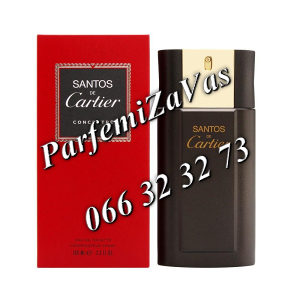 Cartier Santos Concentree 100ml Tester ... U 100 ml