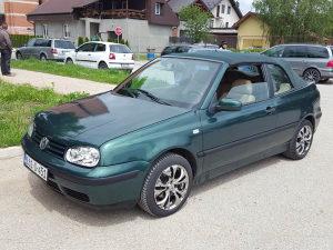 Volkswagen Golf 4 Kabriolet 1.6 Plin_benzin Registovan
