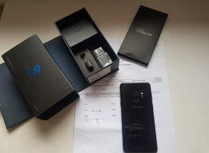 Samsung Galaxy S9 DUOS Midnight Black GARANCIJA 10/10