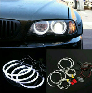 CCFL Angel Eyes 4 x 131mm BMW E36 E38 E39  E46