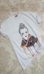 Ženska majica kratkih rukava Boho girl