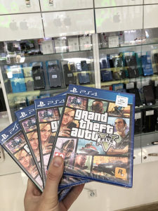 Grand Theft Auto V (PlayStation 4 PS4) GTA 5 NOVO