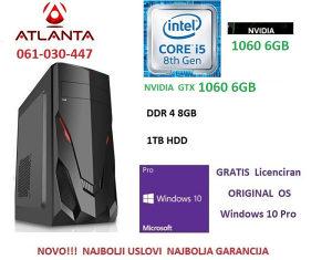 Gamer i5 8400 gtx 1060 6gb 1TB 8GB DDR4 pc NOVO